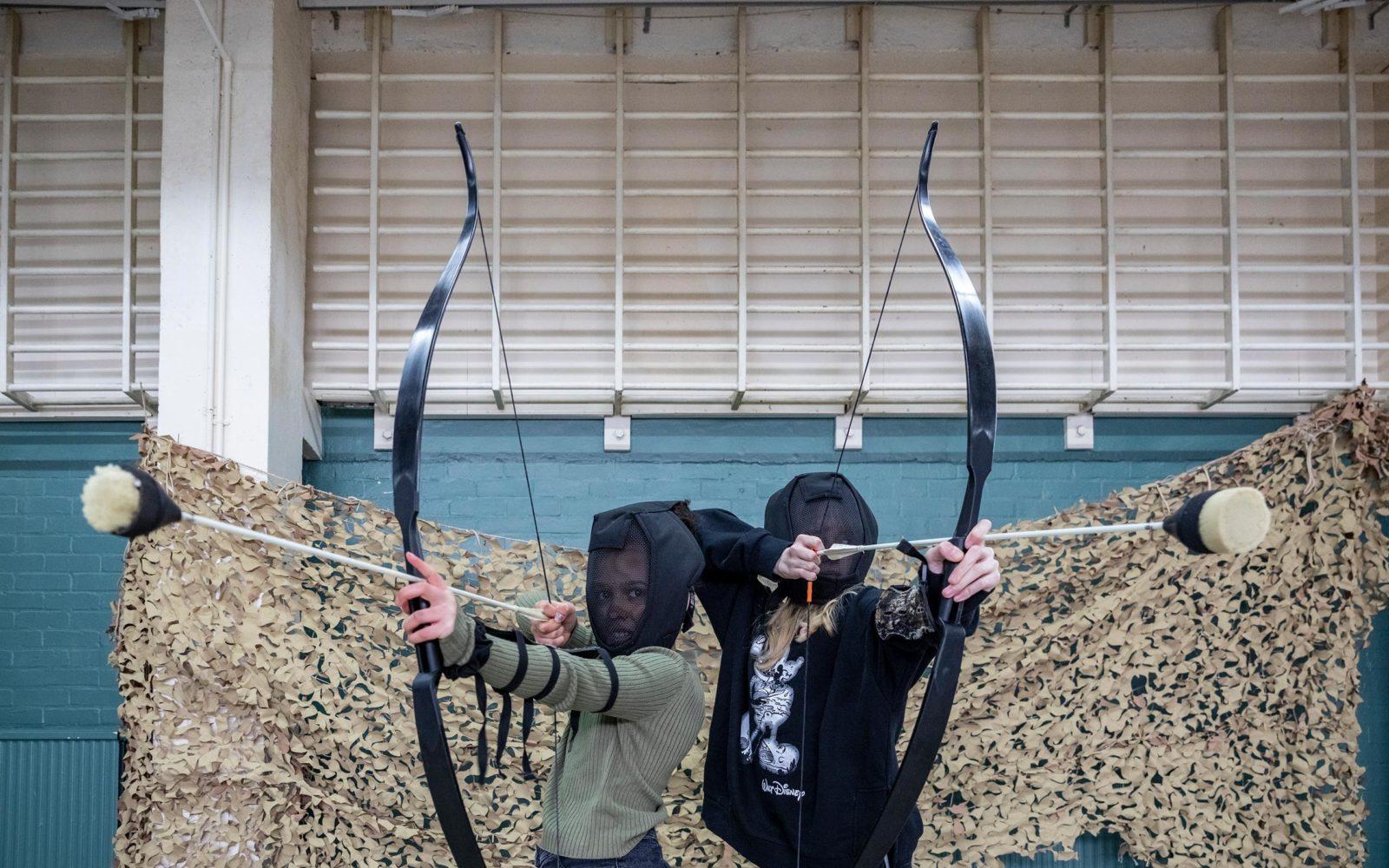 Shrewsbury Prison Kids Archery