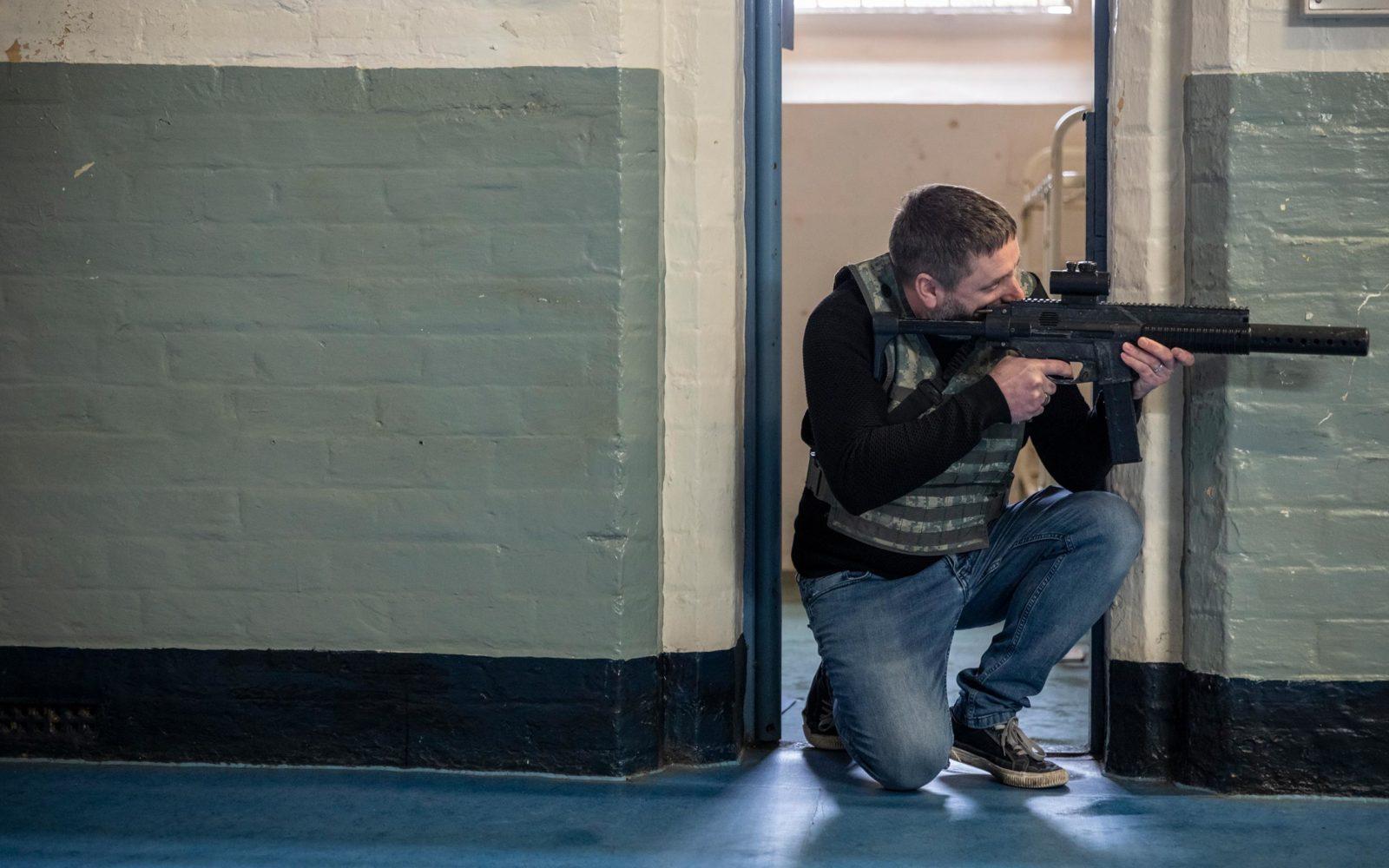 Shrewsbury Prison ICombat Laser Games