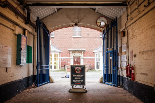 Shrewsbury Prison awarded grant from Government's Culture Recovery Fund